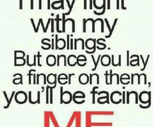 siblings, fight, and quotes image