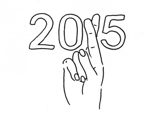 2015, new year, and hope image