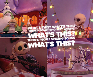 disney, jack skellington, and whats this image