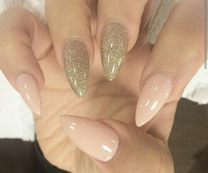 gold, nails, and tapering image