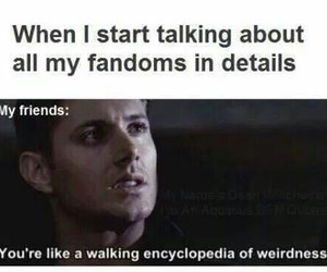 fandom, supernatural, and funny image