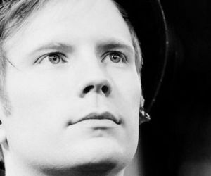 band, patrick stump, and black and white image