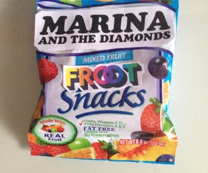 marina and the diamonds, snacks, and froot image