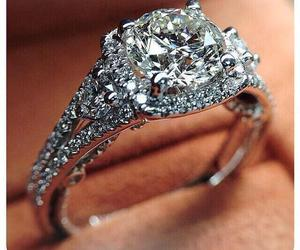 diamond, ring, and cute image
