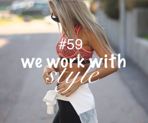 fit, style, and work image