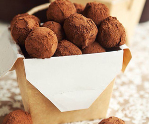 chocolate, nutella, and truffles image