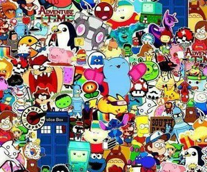 cartoons, colores, and wallpaper image
