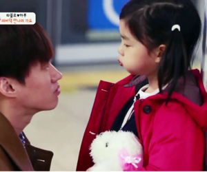 tablo, cute, and the return of superman image