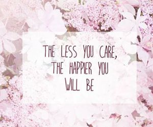 quote, flowers, and happy image