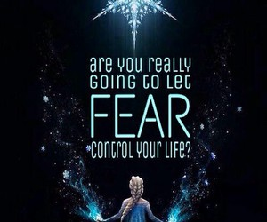 frozen, elsa, and fear image
