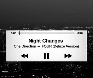 one direction, night changes, and four image