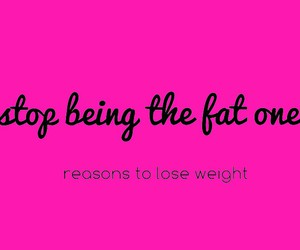 fat, Just Do It, and workout image