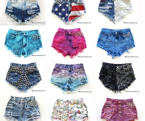fashion, shorts, and girl image