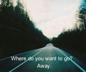 away, quote, and go image
