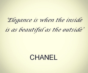 chanel, quote, and beautiful image