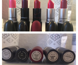 cosmetic, lipstick, and love it image
