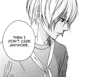 manga, boy, and sad image