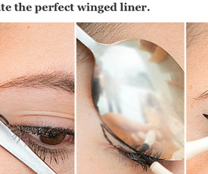 beauty, eyeliner, and make up image