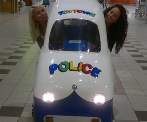 best friends, happiness, and police image
