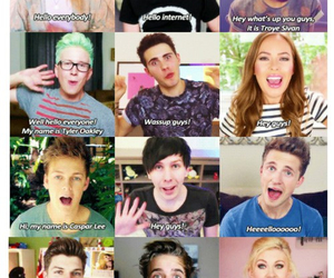 youtubers, troye sivan, and tyler oakley image