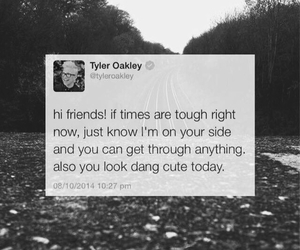 quote, twitter, and tyler oakley image