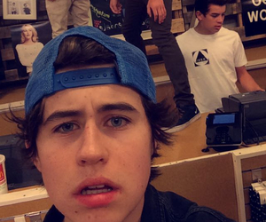 nash grier, snapchat, and hayes grier image