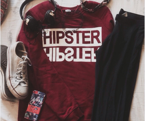 fashion, hipster, and clothes image