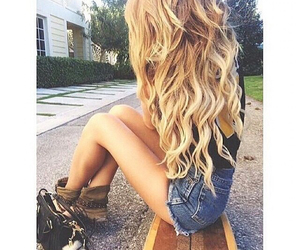hair, fashion, and blond image