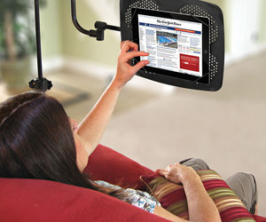 adjustable, stand, and tablet image
