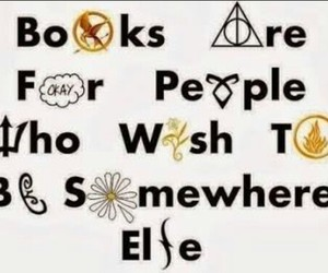 books, love, and be somewhere else image