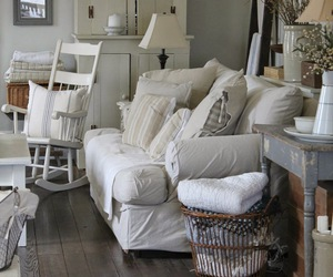 country living, home decor, and living room image