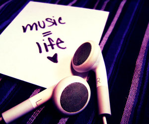life, life quote, and music image