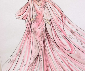 elie saab, draw, and drawing image