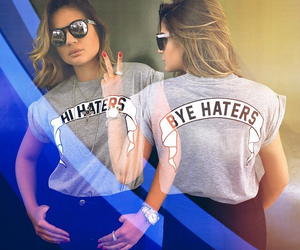 haters, tee, and hi hater image