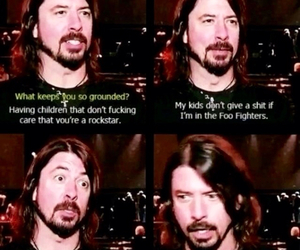 foo fighters, dave grohl, and funny image