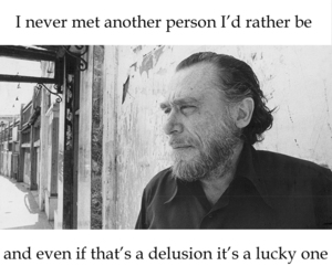 be yourself, quote, and charles bukowski image
