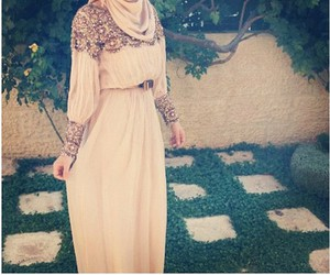 hijab and dress image