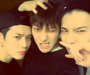 tao, exo, and sehun image