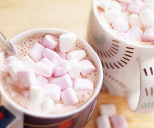 coffee, food, and marshmallow image