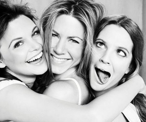 drew barrymore, friends, and Jennifer Aniston image