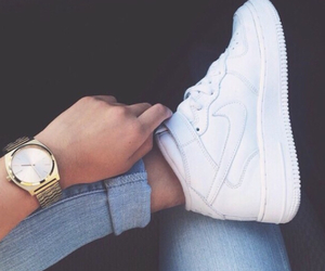air force, nike shoes, and cool image