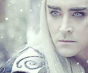 thranduil, elf, and Legolas image