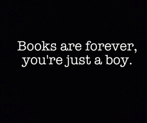book, boy, and forever image