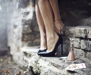 perfume, shoes, and killing heels image