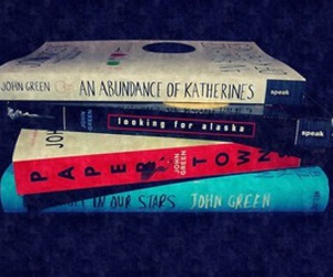 john green, looking for alaska, and paper towns image