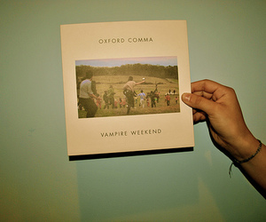 vampire weekend, vintage, and oxford comma image