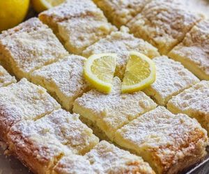 lemon, cake, and food image