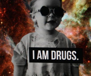 drugs, black and white, and baby image