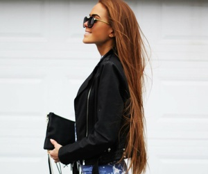 fashion and long hair image