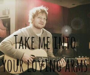 idol, ed sheeran, and thinking out loud image